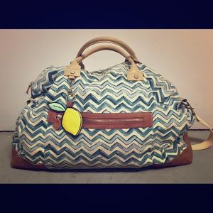 Mossimo duffel bag/tote/clutch with great pockets!